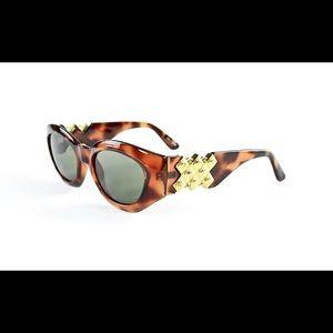 Vintage Versace style sunglasses handmade rare